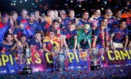 Barca's new direct play does the trick in second treble