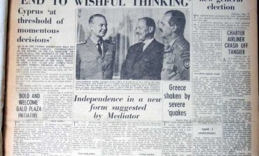 Clerides calls for an 'end to wishful thinking': House president Glafcos Clerides comments on Greek Cypriot response to the Galo Plaza report on Cyprus that called on Greek Cypriots to abandon their demand for enosis - April 1, 1965