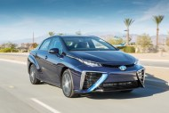 Hydrogen fuel cell Mirai  sets record driving range