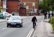 Patience is key when overtaking cyclists