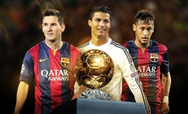 Messi, Ronaldo and Neymar shortlisted for Ballon d'Or