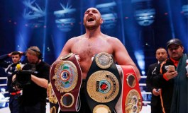 Briton Fury crowned world heavyweight champion after beating Klitschko