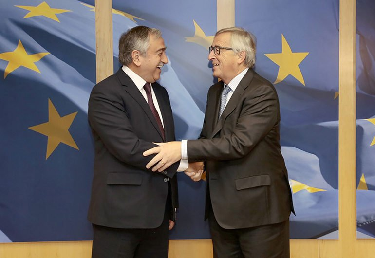 Akinci says he has no objection to EU presence at the talks - Cyprus