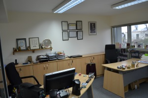 Upper floor office