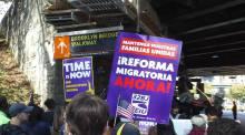 Marcha sobre reforma migratoria
