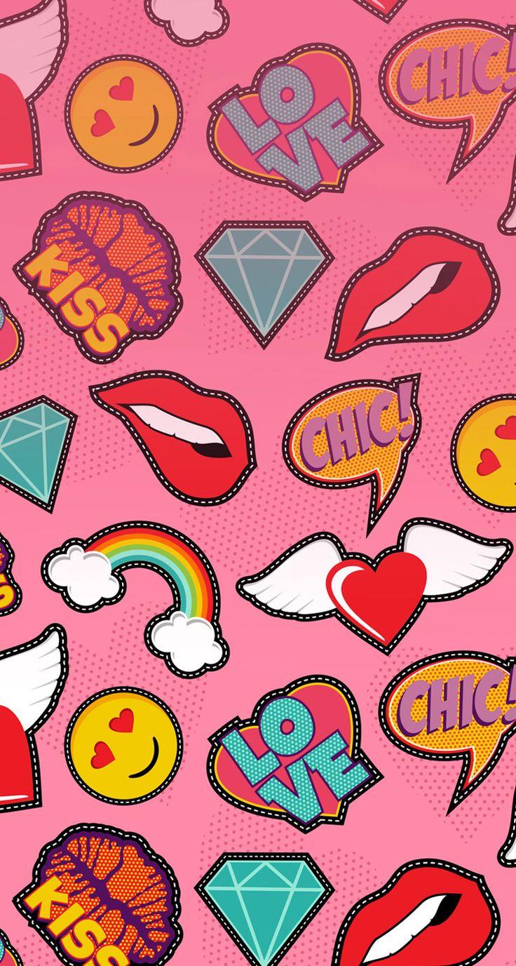 Cute Hipster Wallpaper Fondos De Pantalla De Emojis