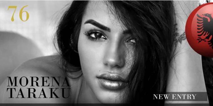 MORENA TARAKU 世界で最も美しい顔100人