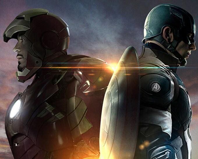 マーベル・シネマティック・ユニバースのフェイズ3のアイアンマンとキャプテンアメリカ