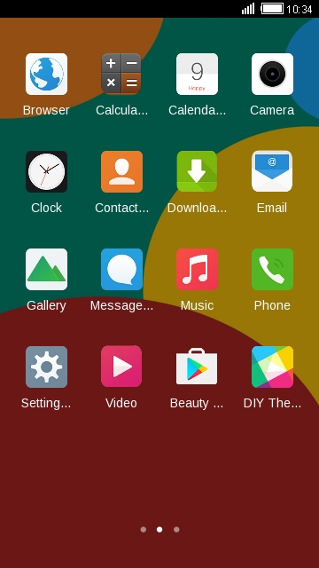 Vivo Y51L free android theme – U launcher 3D