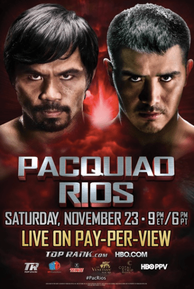 Manny Pacquiao vs. Brandon Rios live stream: How to watch online