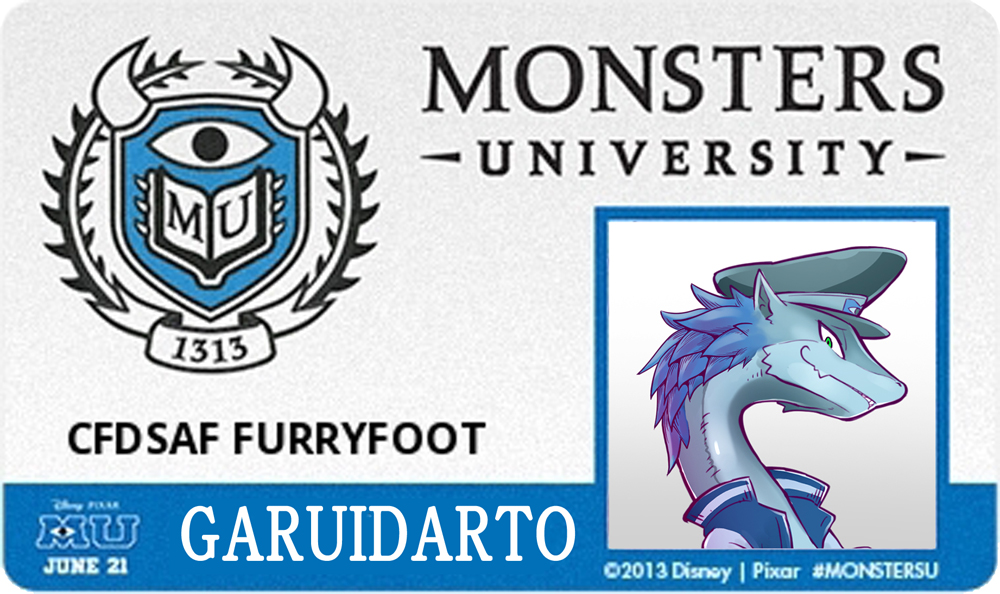 OCGaruidart Student identification card by kikunyi -- Fur Affinity - student identification card