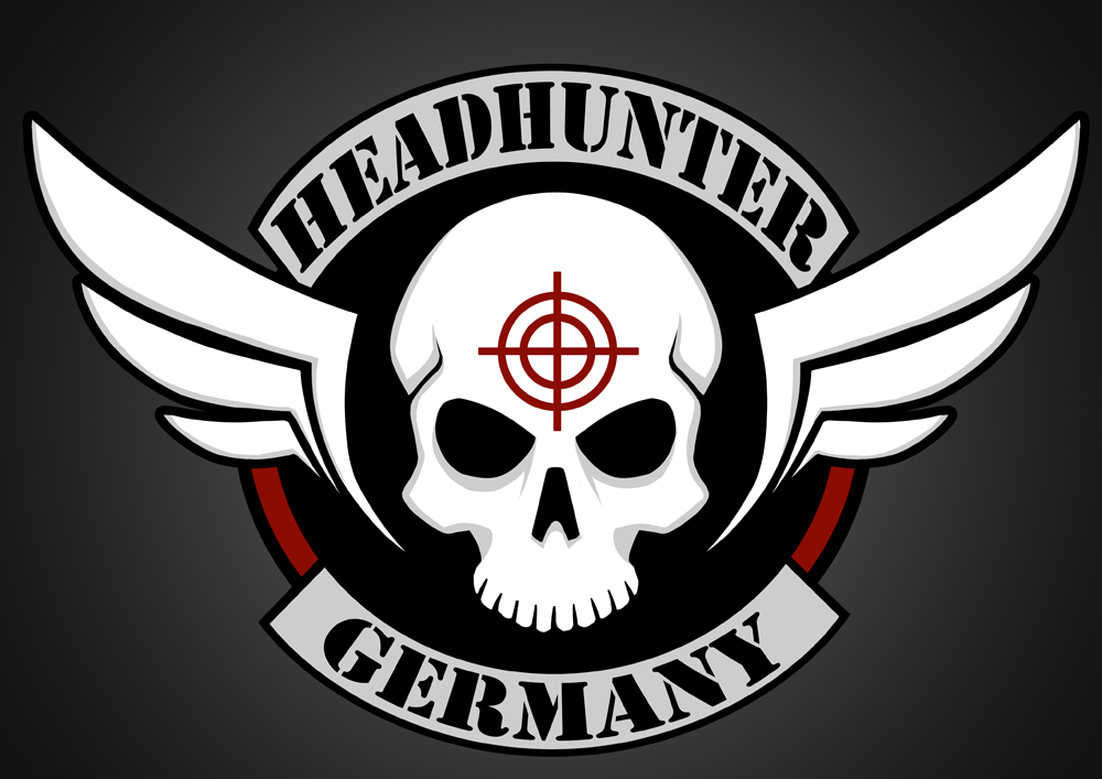 Headhunter Germany - logo request by SkytheArts -- Fur Affinity dot