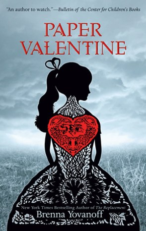 Paper Valentine brenna yovanoff