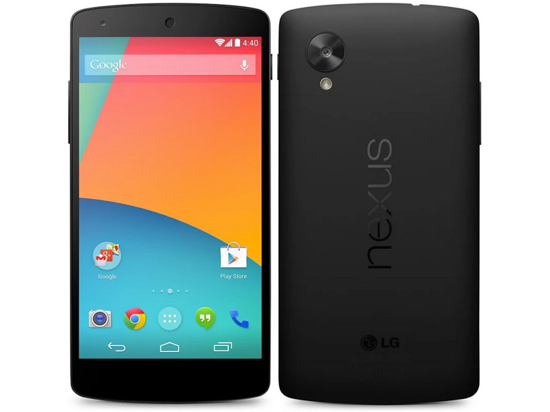 Smart Phones Nexus 5 Spotted Running New Android Kitkat Update With