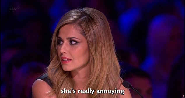 The X Factor Cheryl Cole Lambasts 39wicked Witch Of The