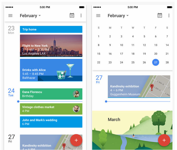 How To Add New Google Calendar To Iphone Google Calendar Get The New App For Android And Iphone Updated Google Calendar App With Material Design Ui New