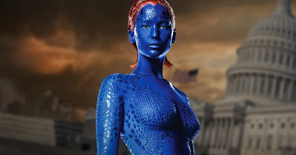 Wallpaper Superhero Marvel 3d X Men Apocalypse Jennifer Lawrence S Raven Returns Home