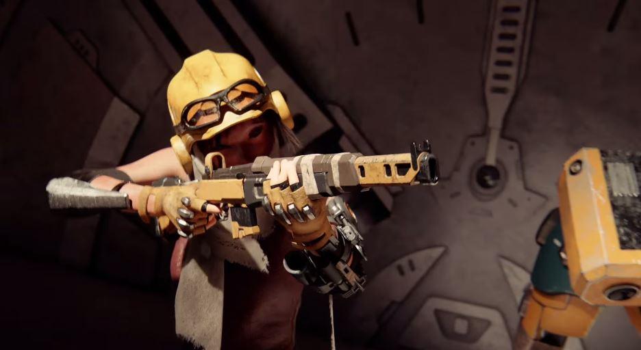 Sniper Rifle Wallpaper Hd E3 2015 Metroid Prime Creator Announces Recore For Xbox