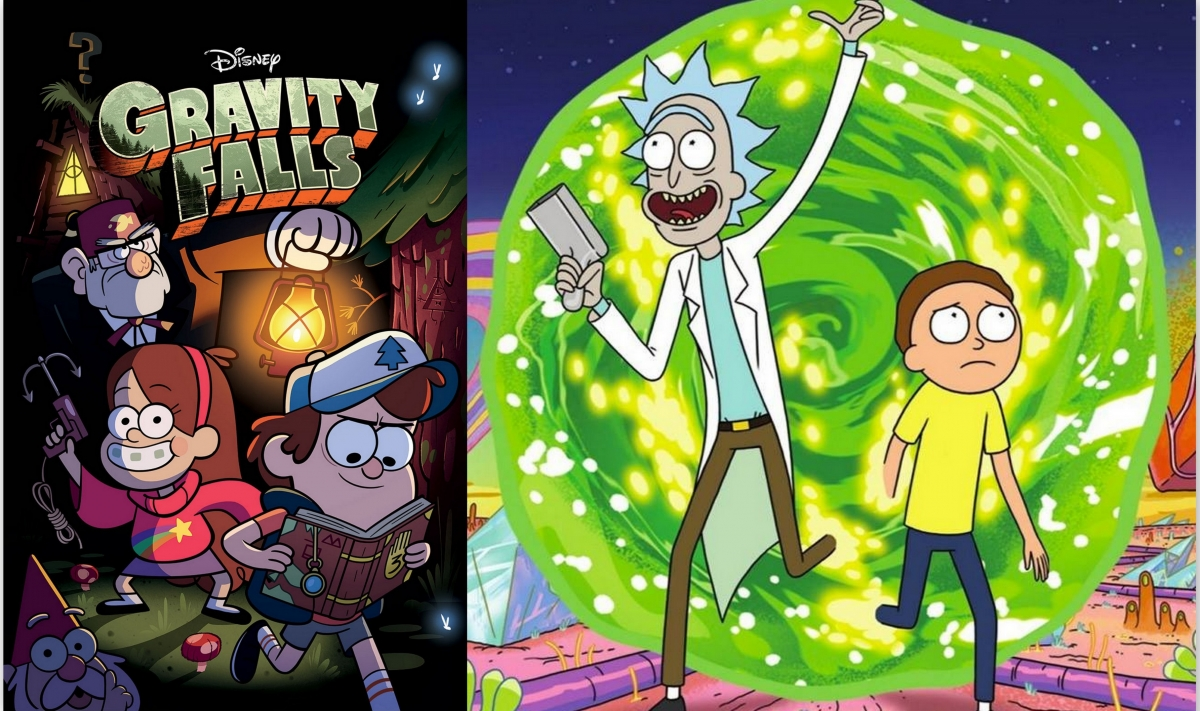 Gravity Falls Bill Wallpaper Rick And Morty And Gravity Falls Crossover Creator Alex
