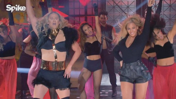 Wwe Songs Lip Sync Battle: Beyonce Surprises Channing Tatum For Epic