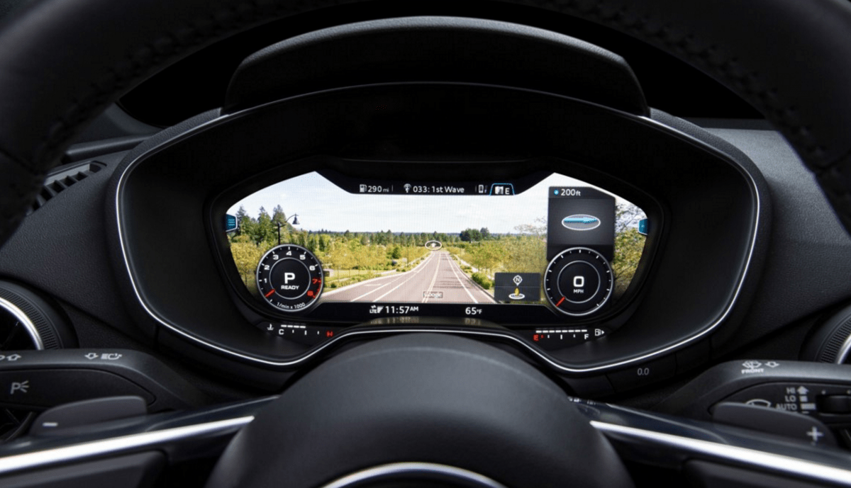 Car Display Wallpaper Vw Outdated Car Dashboards Will Soon Look Like Smartphone