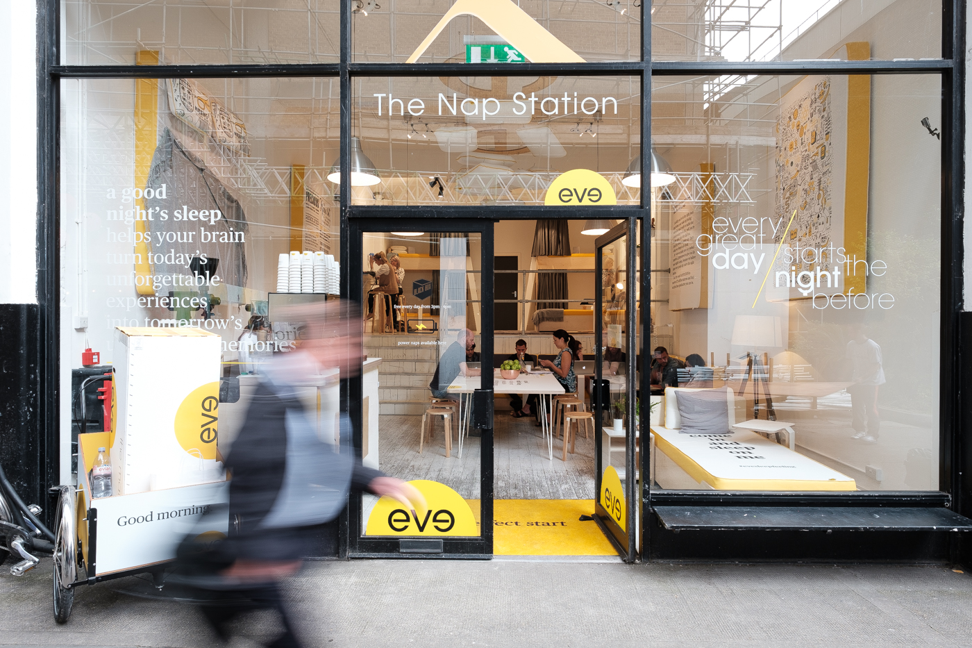 Eve Sleep London Has A Nap Station Meet The Men From Eve Sleep Who Are