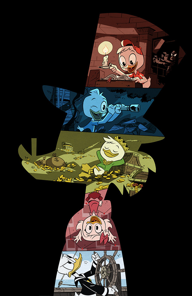 Cool Gravity Falls Wallpaper Ducktales Reboot Disney Xd Reveals First Look Poster Of