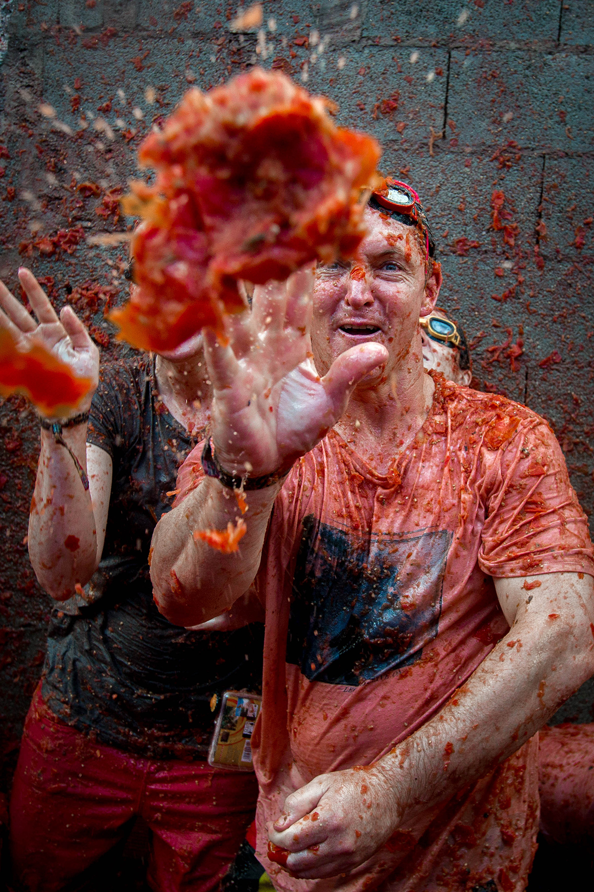 Reuters Newsletter La Tomatina 2016: Thousands Take Part In Gigantic Tomato