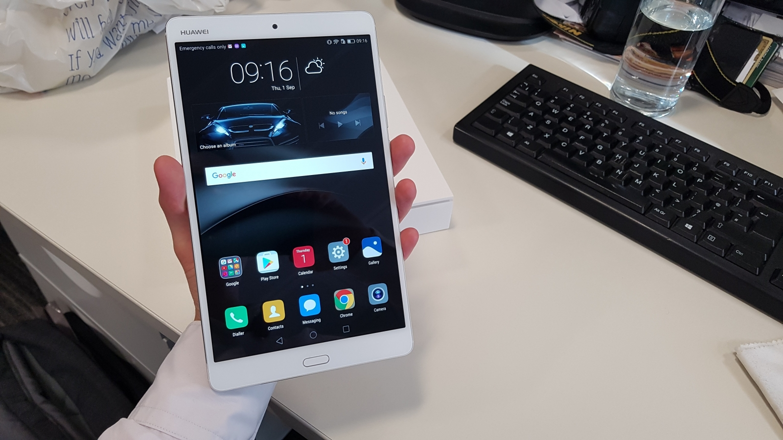 Ifa 2016 Ifa 2016: Huawei Mediapad M3 Hands-on Review