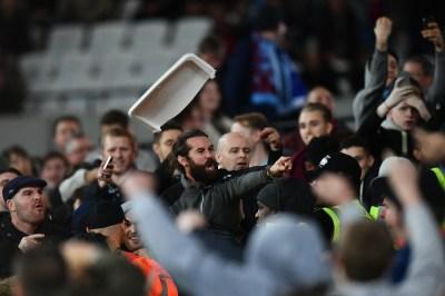 West Ham vs Chelsea: Seven arrested following violence inside London Stadium