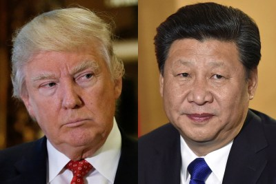 Donald Trump and Chinese president set for Florida showdown over trade and North Korea