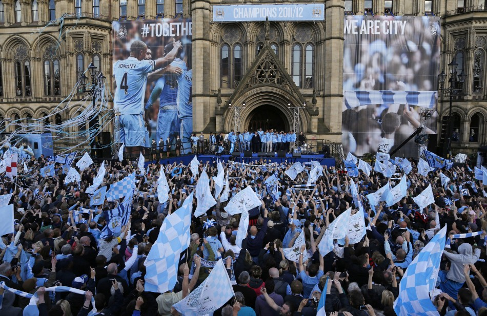 Animal Man Wallpaper Manchester City Celebrate Title Win In Style Slideshow