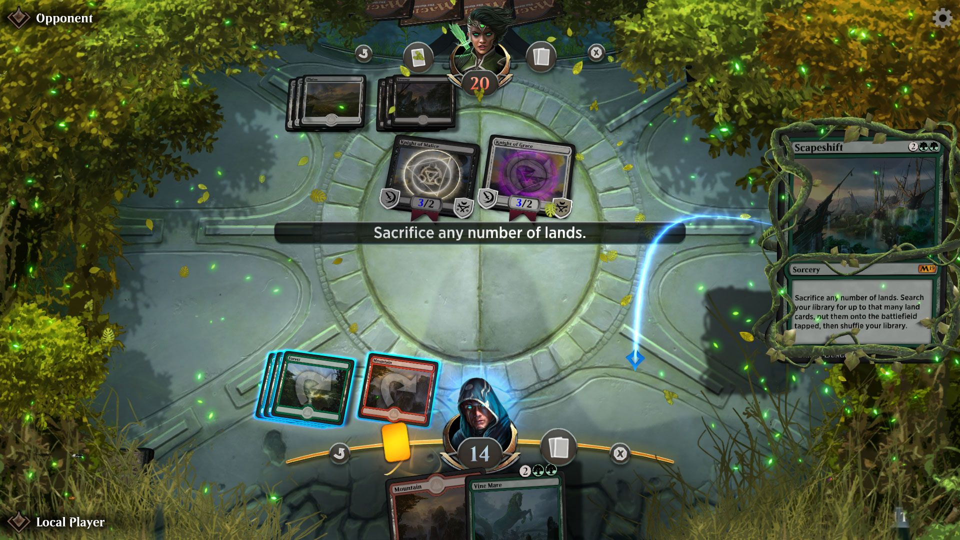 Arena Game Mtg Arena Hands On Impressions Easy Interface Makes Playing Simple