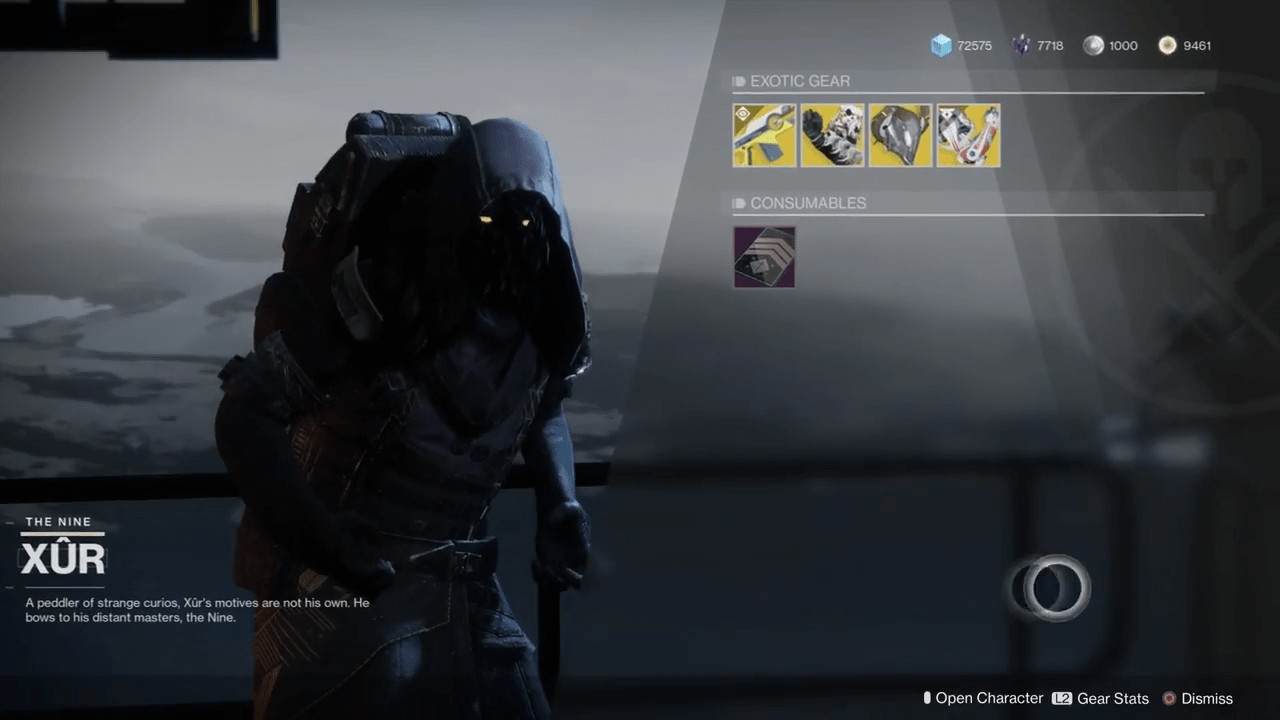 Xur Destiny 2 Xur Location Sept 7 Where Is Xur What S His