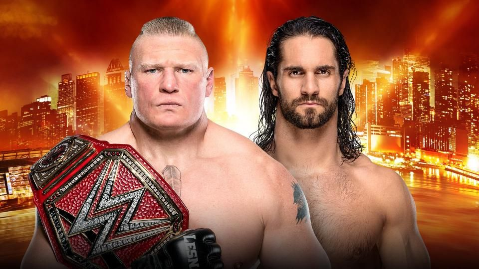 Lesnar Vs Hulk Hogan Wrestlemania 35 Betting Odds Becky Lynch And Seth Rollins Favored
