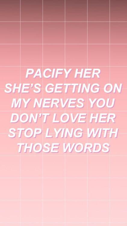 Scene Girl Iphone Wallpaper Songs That Help Me Keep Going Melanie Martinez Pacify