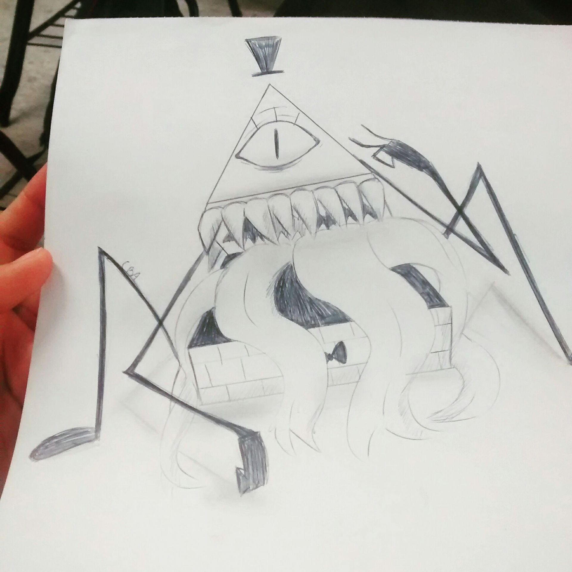 Fall Watch Wallpapers Cuaderno De Dibujos Bill Cipher Wattpad