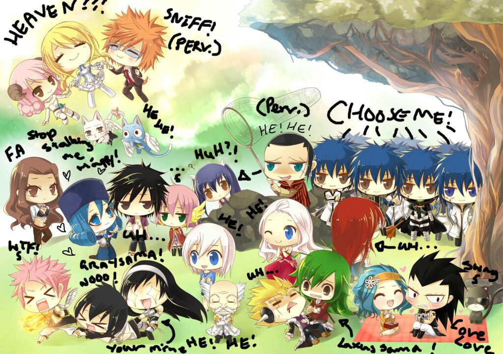 Cute Chibi Anime Wallpapers Jackal X Lucy Authors Note Wattpad