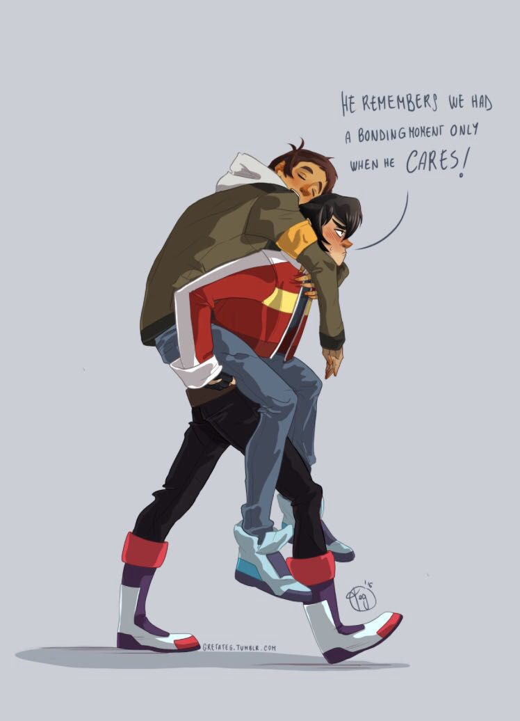 Cute Anime Nsfw Wallpaper Voltron Truth Or Dare Handcuffs And Piggyback Rides