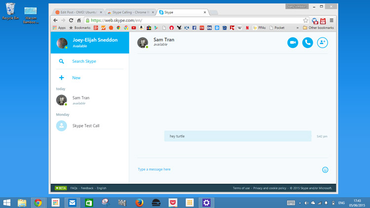How to Use Skype for Web in Google Chrome - OMG! Chrome!