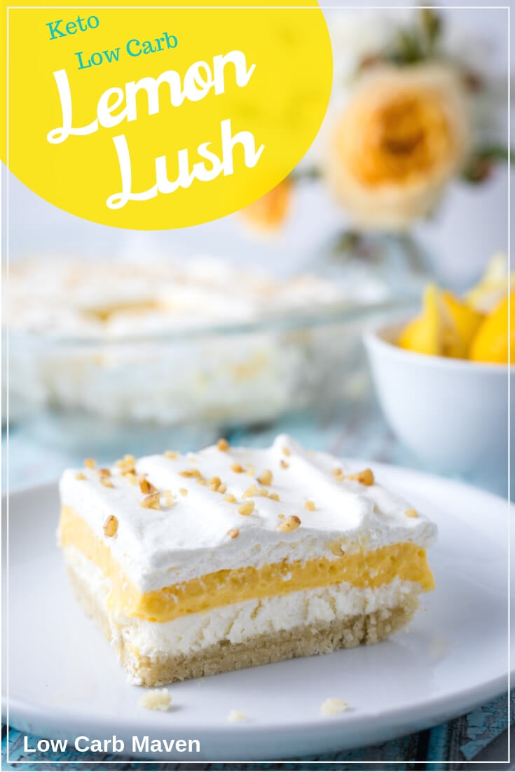 Low Carb Protein Kuchen Low Carb Lemon Lush Dessert