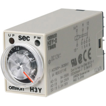 H3Y-2 DC100-110 10S Solid-State Timer H3Y-2, DC Power Source OMRON