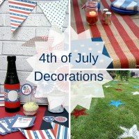 4th of July Party Decorations - Craft Paper Scissors