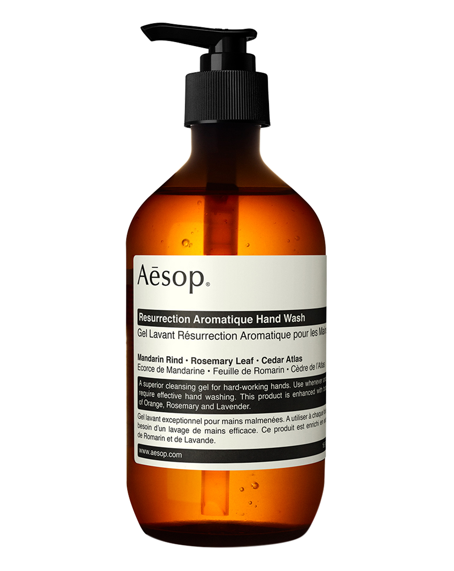 Aldi Shampoo Range Resurrection Hand Wash By Aesop