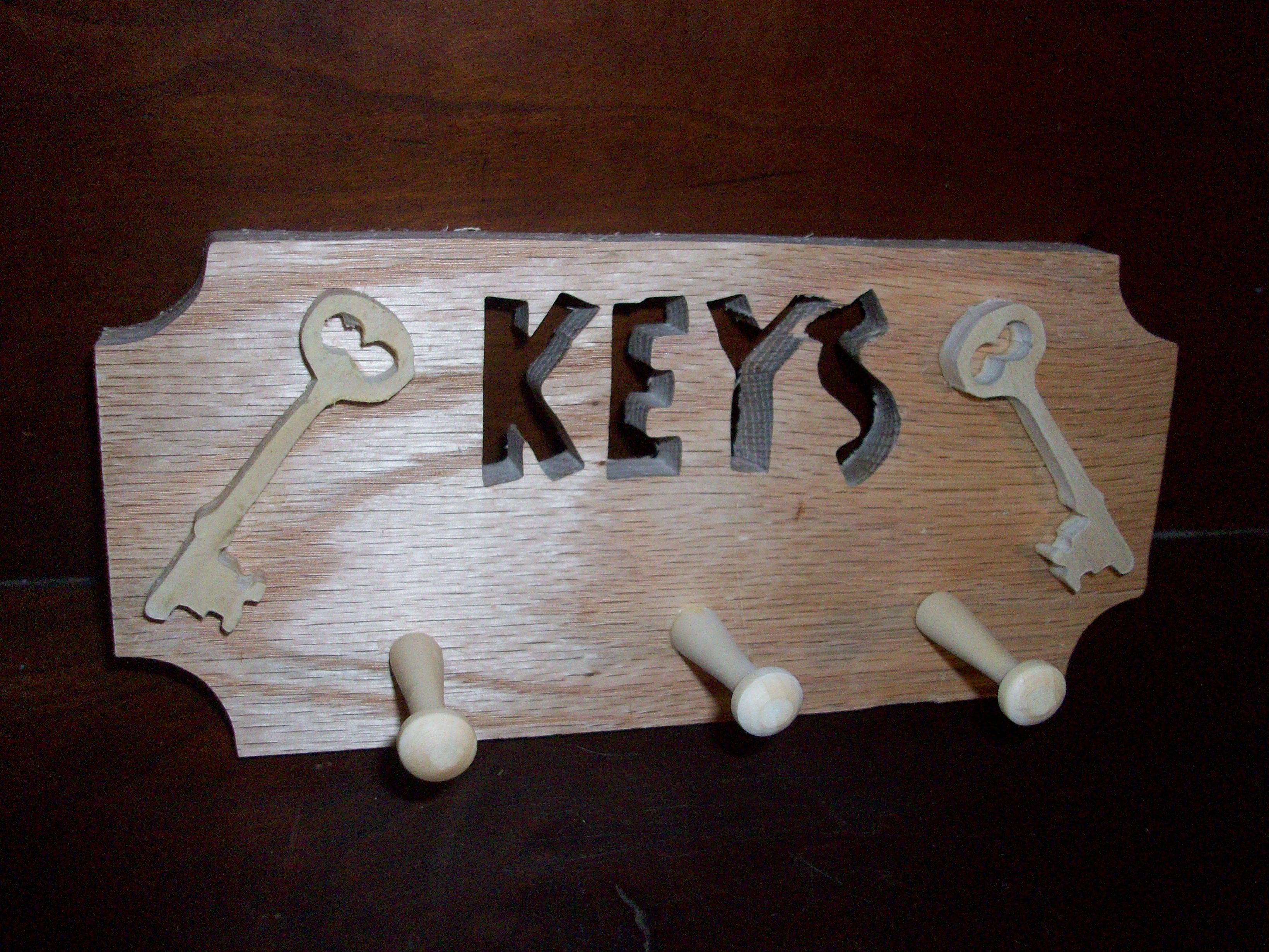 Wooden Key Holder With Shelf Simple Wooden Key Rack Placement Dma Homes