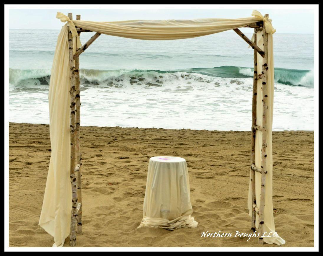 birch wedding arch arbor kit beach birch wedding rustic wedding arch gar wedding arbor Birch Wedding Arch Arbor Kit Beach Birch Wedding Rustic Wedding Arch