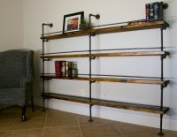 Industrial Shelving Unit (Industrial Bar, Industrial ...