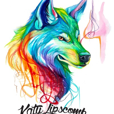 Koi 3d Wallpaper Cool Colorful Wolf Pictures To Pin On Pinterest Pinsdaddy