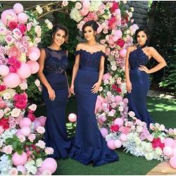 Small Crop Of Navy Bridesmaid Dresses