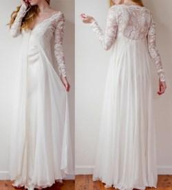 Small Of Flowy Wedding Dress